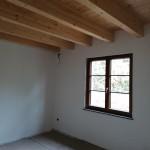 interno con tetto a vista